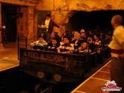 Universal Studios Revenge of the Mummy Roller Coaster Car