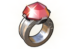 Loot Jeweled Ring
