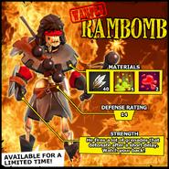 Wanted Rambomb EN