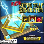 Wanted Super Trap Generator EN