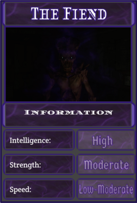 Fiend Improved Infobox