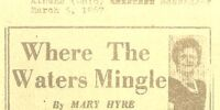 Where The Waters Mingle by Mary Hyre 3/5/67