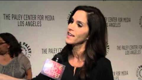 Jami Gertz talks 'The Neighbors' with OTRC com at Paleyfest 2012 Video