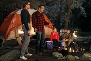Camping Simon Templeman Lenny Venito Isabella Cramp Max Charles