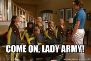 The Neighbors Lady Army