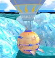 Hot air balloon side