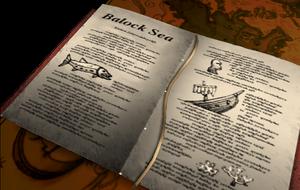 Baroque Sea journal entry