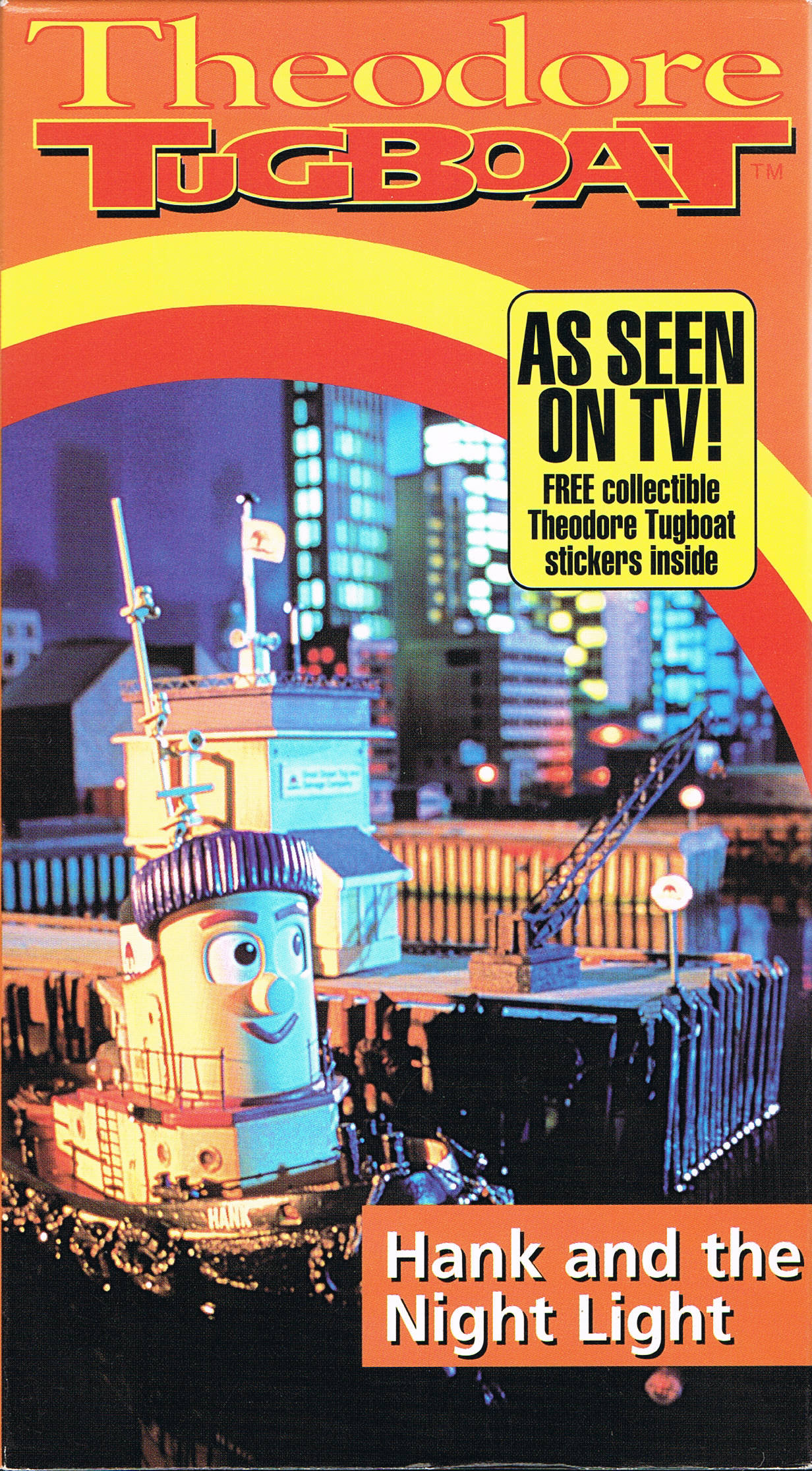 Theodore And Bella Card: Hank And The Night Light (VHS)