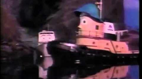 Theodore & the Missing Barge