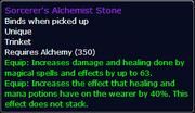 Sorcerer's Alchemist Stone