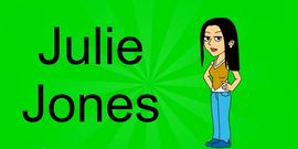 Julie Jones Title Card