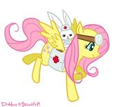 Fluttershy the Medic