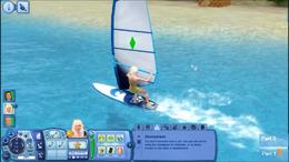 Cassie Windsurfing