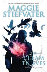The Dream Thieves, US paperback cover