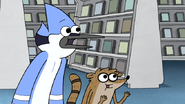 S3E34.039 Mordecai and Rigby's Reaction to a Waive Fee