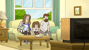 S7E36.325 Family Listening to Rigby's Speech