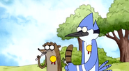 S4 e4 Mordecai and rigby eat the pie