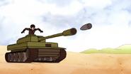 S6E18.187 The Shell Heading Towards the Tank