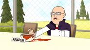 S7E19.211 Sean-Ben Pushing Benson's Chili Away