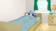 S7E28.013 Mordecai Sleeping
