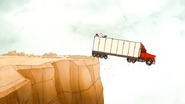S4E27.268 The Truck Going Off the Cliff