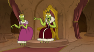 S8E05.049 Mantis King Spitting Out His Gum