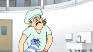 S6E26.197 Mordecai Punching Jerry's Stomach