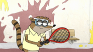 S7E26.137 Rigby Ready to Play Tennis