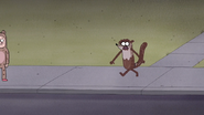 S7E09.356 The Chocolate Spreading Through Rigby's Body