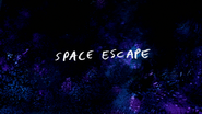 S8E15 Space Escape Title Card