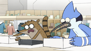 S8E04.010 The Duo Putting the Hover Boots on the Counter