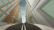 S6E27.132 Mordecai and Rigby Falling Towards the Ground