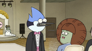 S6E28.120 Mordecai Trying to Say Something