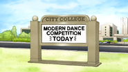 S6E07.001 Modern Dance Competiton Today at City College