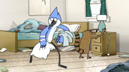 S3E34.079 Mordecai and Rigby Still Cleaning