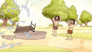 S4E17.178 Cavemen Destroying the Fountain 02