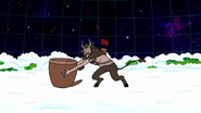 S8E23.484 Krampus Putting Skips in His Basket