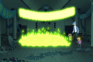 Dancefloor on fire