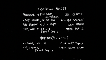 S7E30 Marvolo the Wizard Credits