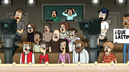 S7E17.032 The Audience's Reaction to Pops Interference