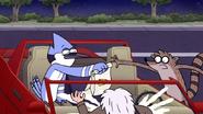 S7E21.279 Mordecai Giving Rigby His Food