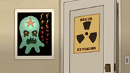S7E08.091 Stereo Fighter and Brain Explosion Posters