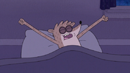 S7E24.042 Rigby About to Sleep