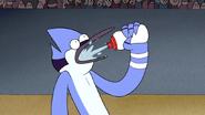 S4E24.130 Mordecai Drinking Water