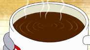 S7E28.004 Vibration Shown in the Coffee