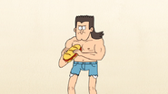 S4E13.007 A Mullet, Buff Guy with Cut-Off Jeans