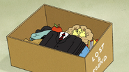 S6E18.047 Suit in the Lost and Found Box