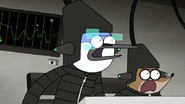 S6E24.426 Mordecai and Rigby Calling Out Quad Cannon Melee Mode