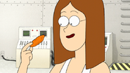S7E32.137 Pam Holding a Wing