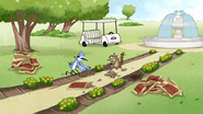 S4E31.001 Mordecai and Rigby Gardening